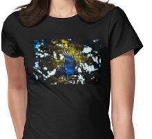 Her Blue Wings Womens Fitted T-Shirt