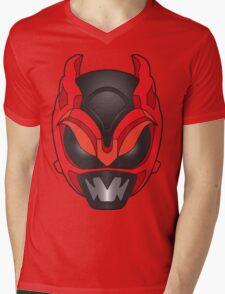 Psycho Red Ranger Mens V-Neck T-Shirt