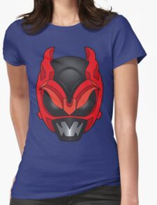 Psycho Red Ranger Womens Fitted T-Shirt