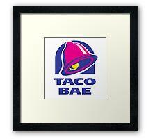 Taco Bae Framed Print