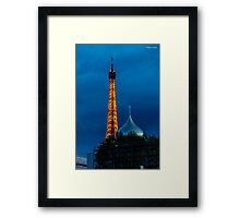 Eiffel Tower and Hershey's Kisses! Framed Print