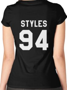 transparent black Women's Fitted Scoop T-Shirt