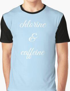 chlorine & caffeine Graphic T-Shirt