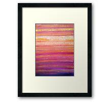 outback colours Framed Print