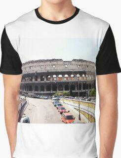 Battleground Of The Gladiator, Photo / Digital Painting  Graphic T-Shirt