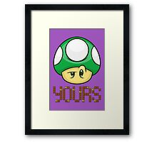 1 Up Yours Framed Print