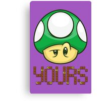 1 Up Yours Canvas Print
