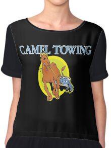 Camel Towing Truck Camel Chiffon Top