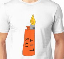 IT'S LIT (red) Unisex T-Shirt