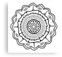 Evil Eye Mandala Canvas Print