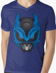 Psycho Blue Ranger Mens V-Neck T-Shirt