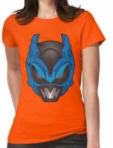 Psycho Blue Ranger Womens Fitted T-Shirt