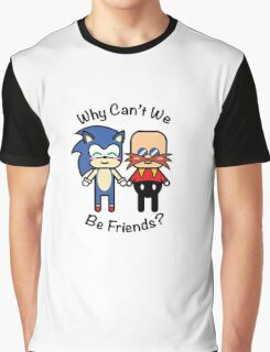 Sonic & Dr.Robotnik Graphic T-Shirt