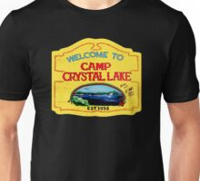 Welcome To Camp Crystal Lake Unisex T-Shirt