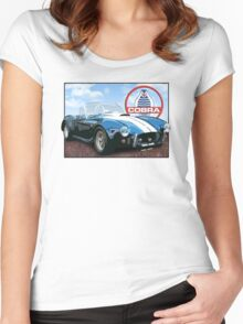 1960 ac cobra Sky Women's Fitted Scoop T-Shirt