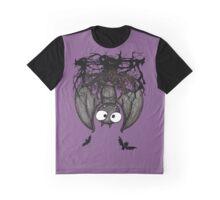 Happy Vampire Bat Graphic T-Shirt