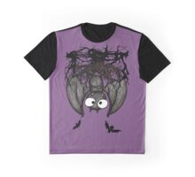 Happy Vampire Bat Graphic T-Shirt