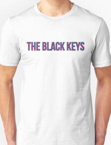 Black Keys - Turn Blue Style Font with Outline Unisex T-Shirt