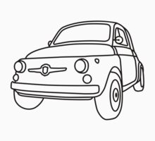 Fiat 500 - Classico One Piece - Long Sleeve