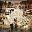 Evening on the Grand Canal by Lucinda Walter