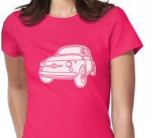 Fiat 500 - Classico Womens Fitted T-Shirt