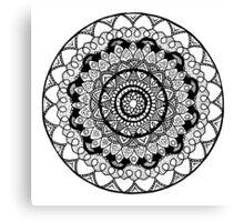 Mandala Garden Canvas Print