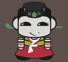 Umma Korean Geo'bot 1.0 Baby Tee