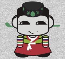 Umma Korean Geo'bot 1.0 Kids Tee