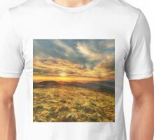 Sunset from The Bluff Unisex T-Shirt