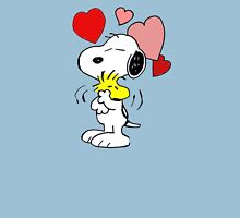 hug valentine snoopy peanut Unisex T-Shirt