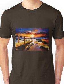 Seashore Bridge Unisex T-Shirt