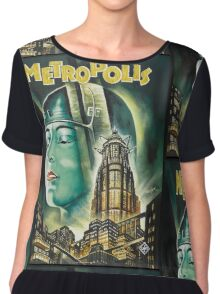Metropolis 1927 - Movie Poster Chiffon Top
