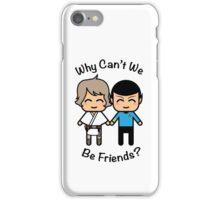 Luke Skywalker & Spock iPhone Case/Skin