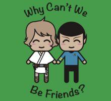 Luke Skywalker & Spock Kids Tee