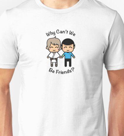 Luke Skywalker & Spock Unisex T-Shirt