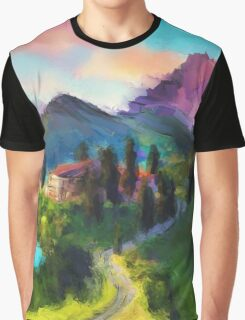 Mountain Valley Graphic T-Shirt