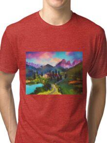 Mountain Valley Tri-blend T-Shirt