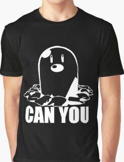 Diglett Pokemon Graphic T-Shirt