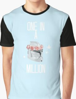 """""""one in a million"""" tcw Graphic T-Shirt"""
