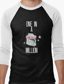 """one in a million"" tcw Men's Baseball ¾ T-Shirt"