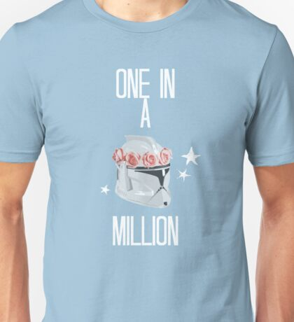 """one in a million"" tcw Unisex T-Shirt"