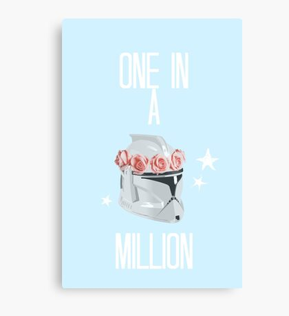 """""""one in a million"""" tcw Canvas Print"""
