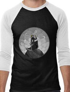 A not so grim Grim Reaper - BW Men's Baseball ¾ T-Shirt