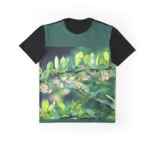 Naturalized Japanese Barberry Blossoms Graphic T-Shirt