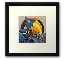 Justice Rains From Above Framed Print