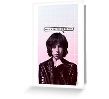 Cocoon; Catfish and the Bottlemen Greeting Card