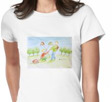 A Partner Womens Fitted T-Shirt