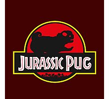 jurassic pug park style Photographic Print