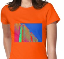 BUILDINGS Womens Fitted T-Shirt