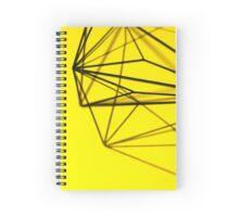 Minimalist Yellow Geometry - Photograph Spiral Notebook